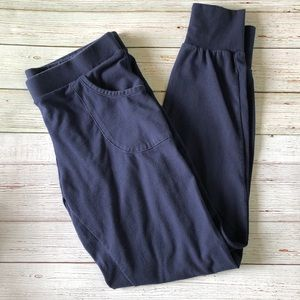 The Limited Blue Leggings with Pockets